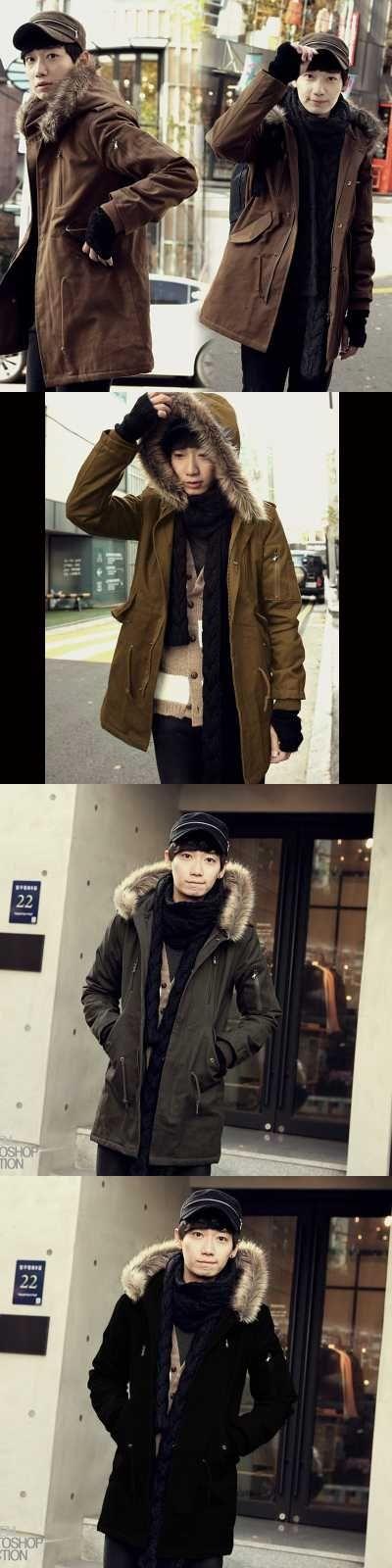 Winter Jacket Men Parkas Black Brown Green Winter Coat Feather Down Jacket Abrigos Hombres Invierno Chaqueta Plumas H6561