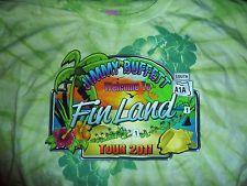 """JIMMY BUFFETT """"WELCOME TO FINLAND""""  TOUR 2011  SHORT SLEEVE SHIRT"""