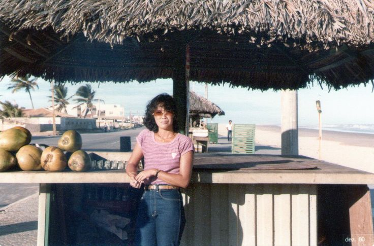 Na praia de Sergipe