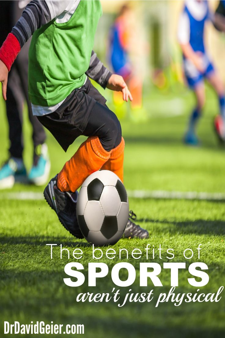 The benefits of sports aren't just physical from