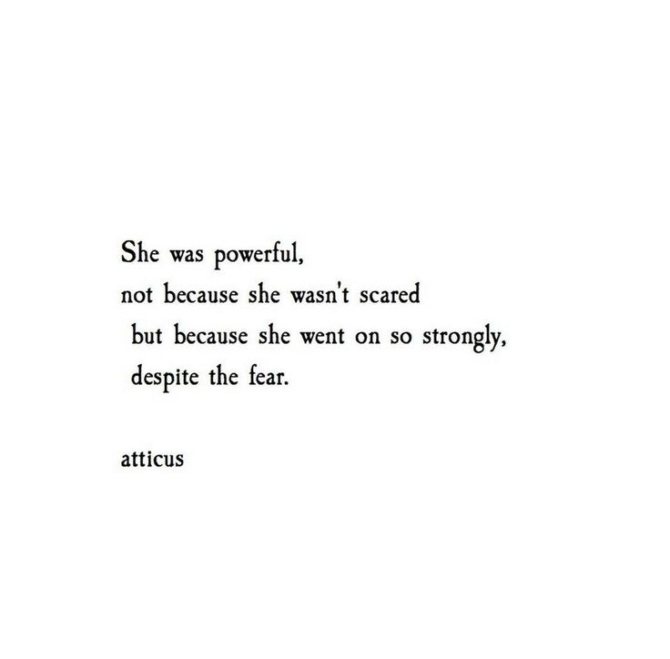"""She Was Powerful"" @atticuspoetry #atticuspoetry"