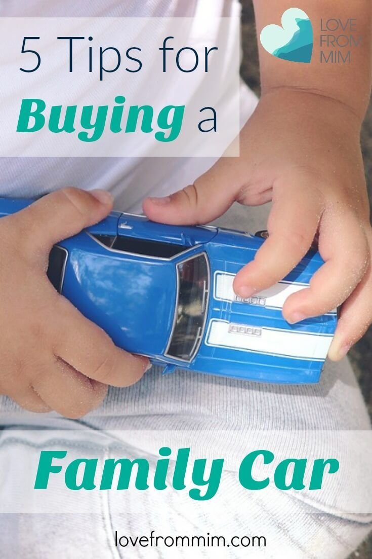 5 Tips for Buying a Family Car