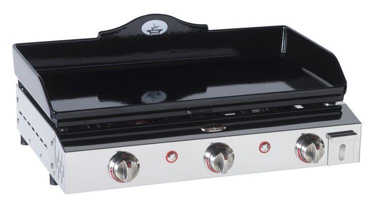 Plancha gaz Forge Adour inox et fonte émaillée