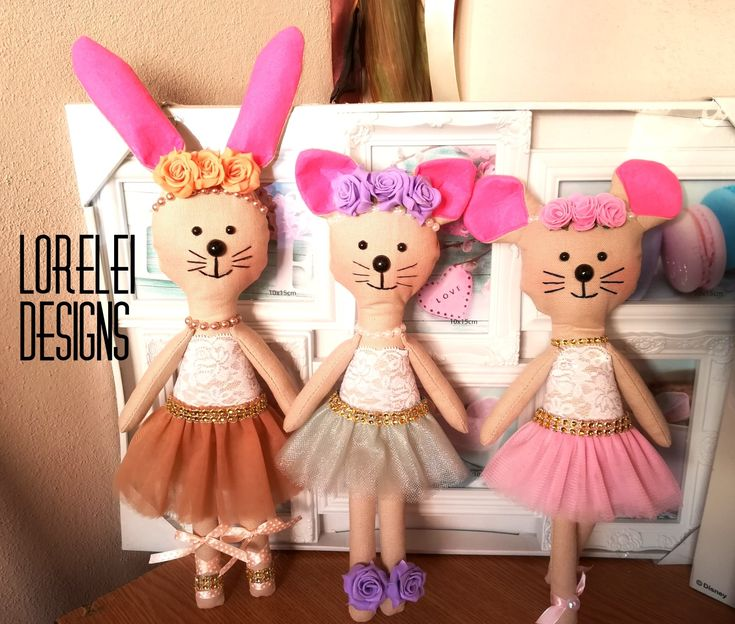 #ballerina #doll #mouse #bunny #cat