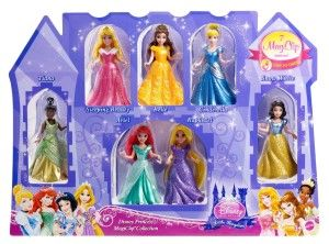 Disney Princess Little Kingdom Magiclip 7-Doll Giftset