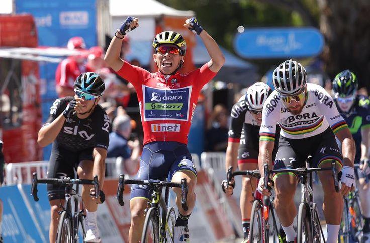 Big Changes in 2017 for Orica-Scott Cycling Team. Take a close look at the new Orica-Scott team, bikes, and gear.   LEARN MORE: http://www.bikeroar.com/articles/big-changes-in-2017-for-orica-scott-cycling-team.   #cycling #orica-scott #scottsports #procycling #worldtour #roadbike #tdu #calebewan #sagan