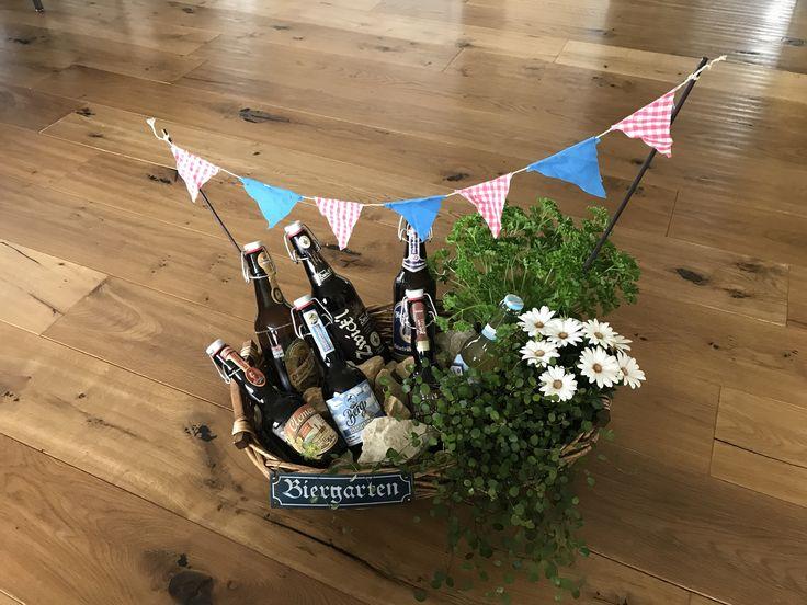 Biergarten, die Geschenkidee für Männer.