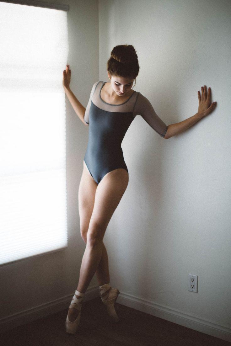 Sophia Aurora Silveria In Audition Dancewear Leotard