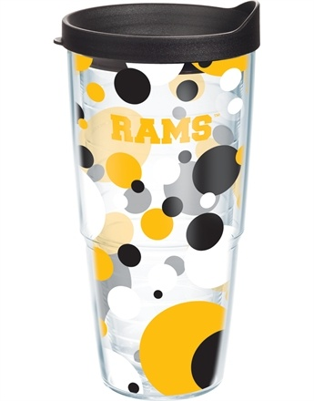 Collegiate | Virginia Commonwealth University | Polka Dot Wrap with Lid | Tumblers, Mugs, Cups | Tervis