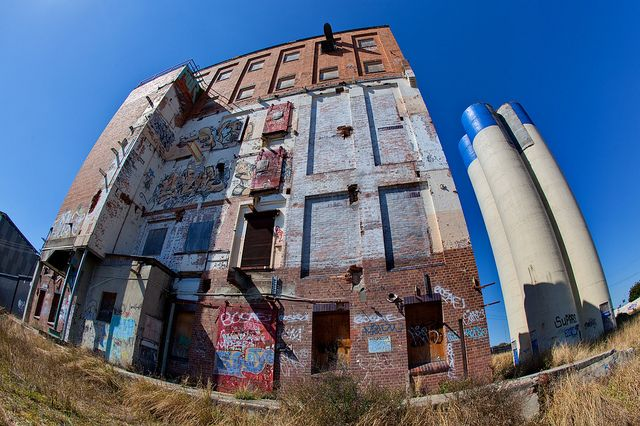 The Abandoned Albion Flour Mill, Brisbane by Craig Jewell Photography, via Flickr