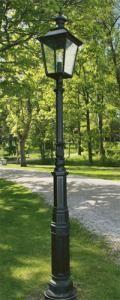Lyktstolpe Ljuså S4 - Runt svart lykthusVälkommen till förra sekelskiftet
