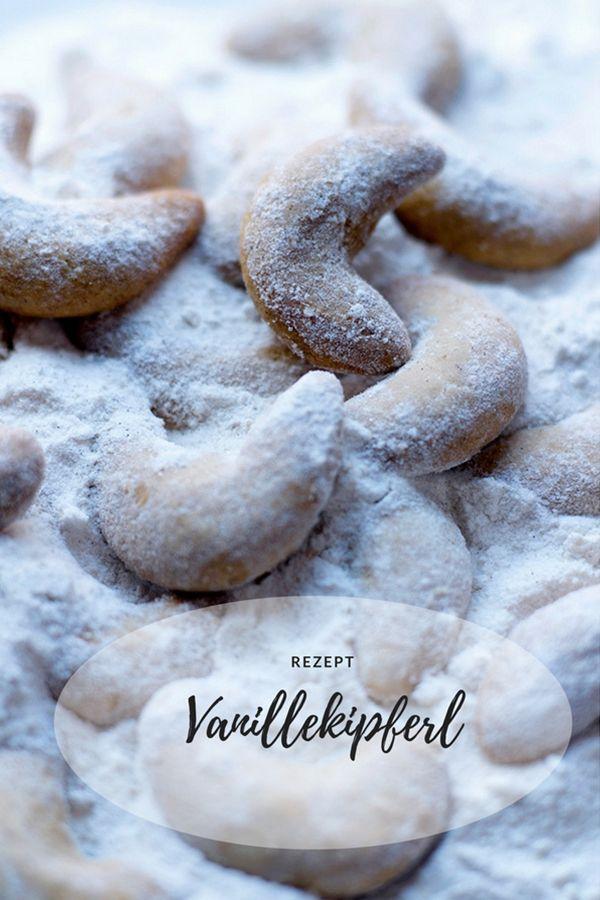Vanillekipferl - Rezept - Backen für Weihnachten - Plätzchen - Sweet & Easy - Enie backt - sixx