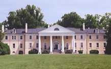 Montpelier, home of James Madison, 4th President of the United States.  Located near Orange Virginia.