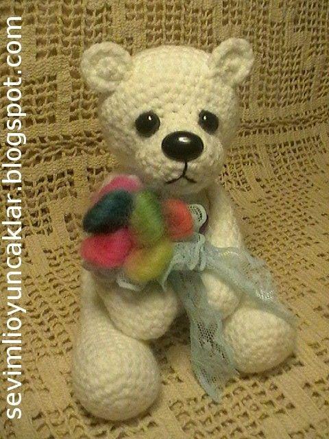 Free Amigurumi Crochet Patterns Fox : Amigurumi Polar Bear Pattern