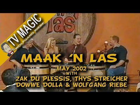 Maak 'n Las: May 2002 met Wolfgang Riebe - YouTube
