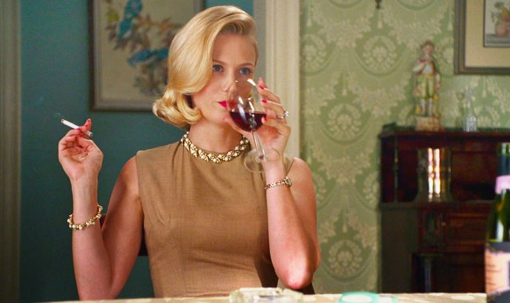 looking forward to what betty's been up to, mad men
