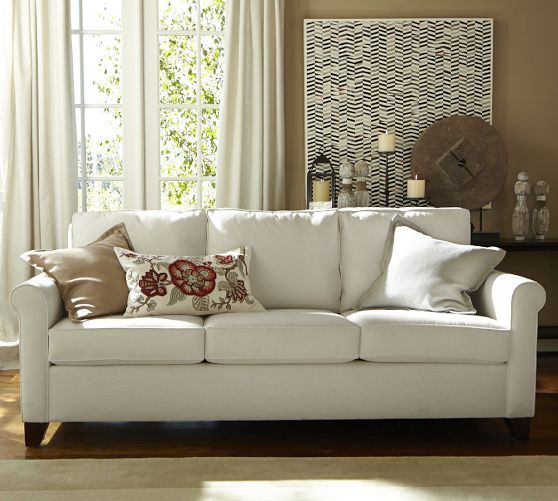 Cameron Upholstered Sofa Pottery Barn Home Sweet Home