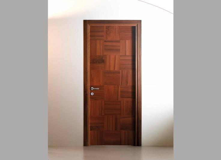 Wooden handcrafted door