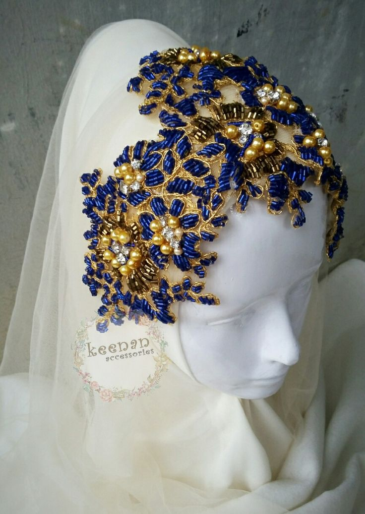 #headpiece #lace #wedding #hijab #muslimwedding