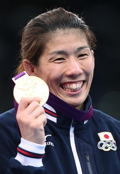 Saori Yoshida, three times olympic champion