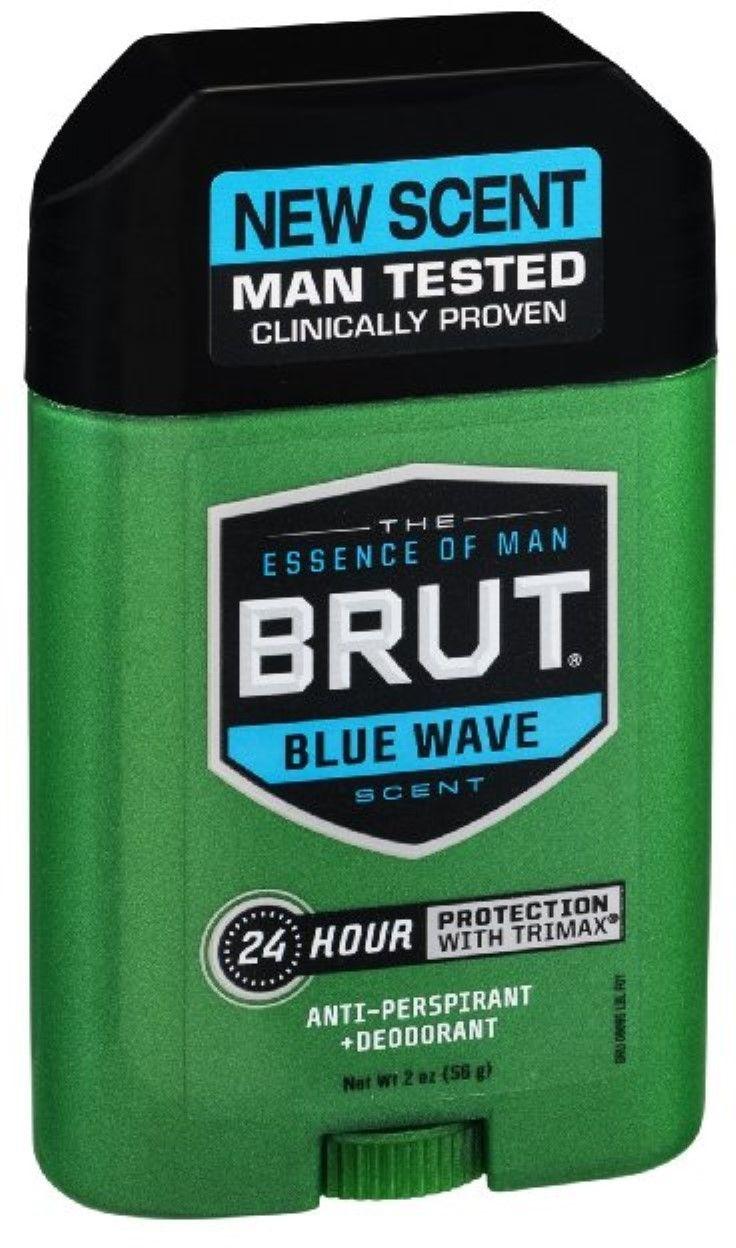 Brut Anti-Perspirant & Deodorant, Wave 2 oz