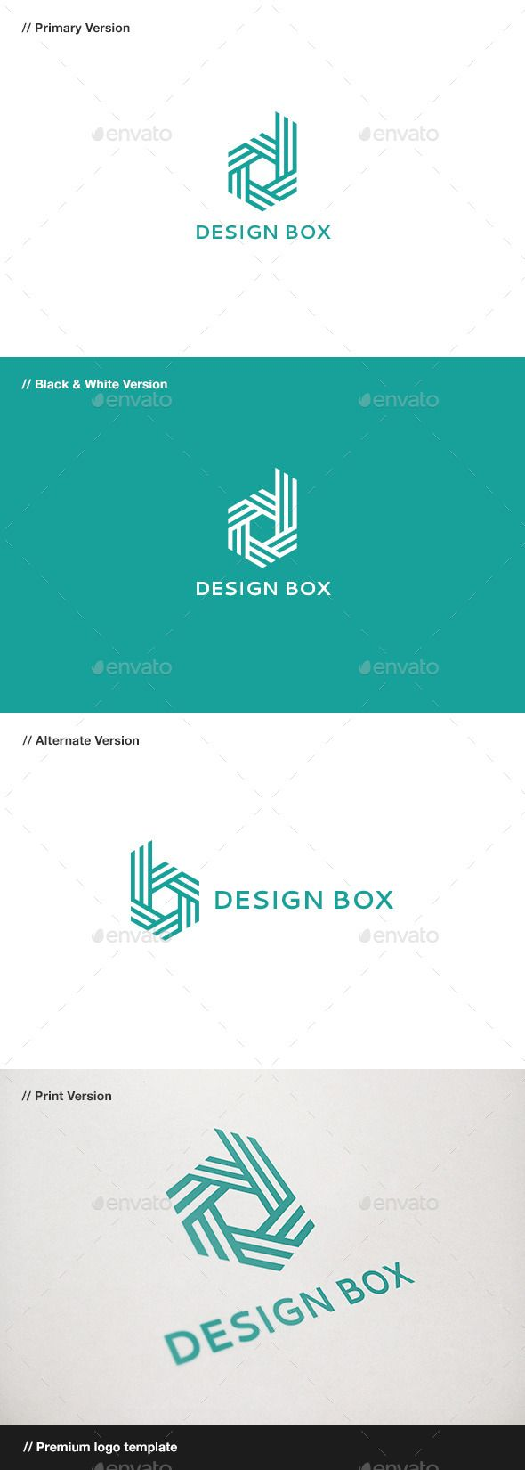 Design Box Letter D & B - Logo Design Template Vector #logotype Download it here: http://graphicriver.net/item/design-box-letter-d-b-logo/10816338?s_rank=1073?ref=nesto