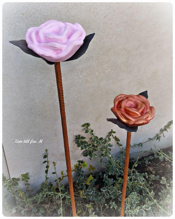 Hem till fru M: Betong rosor