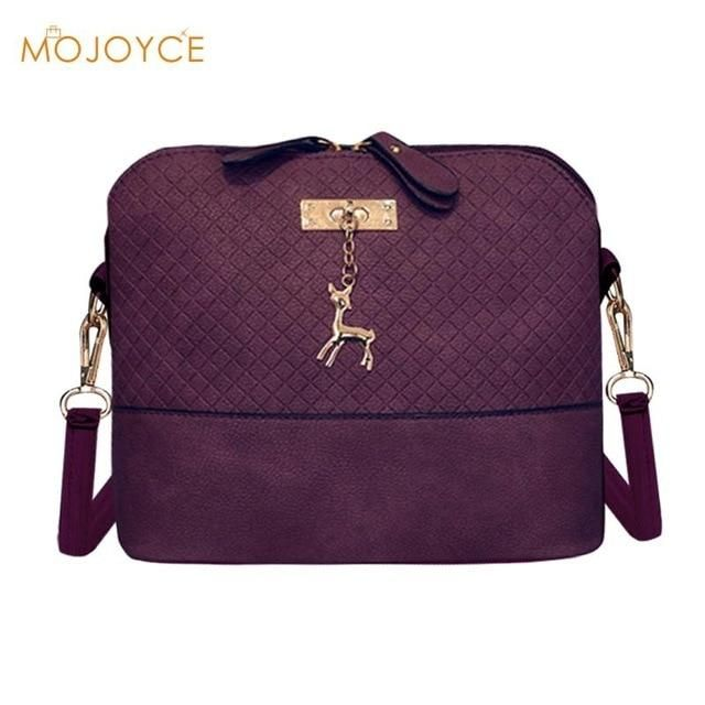 2e082012892a 2018 Women Messenger Bags Fashion Mini Deer Toy Shell Shape Bag ...