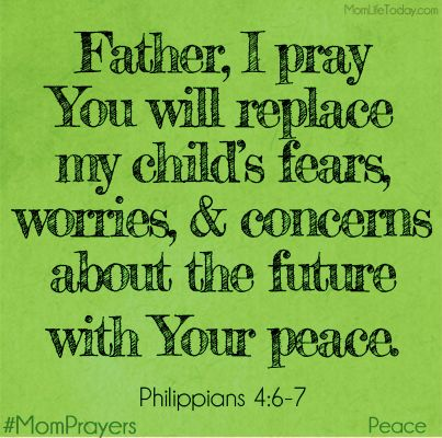 """""""do not be anxious about anything, but in everything by prayer and supplication with thanksgiving let your requests be made known to God. And the peace of God, which surpasses all understanding, will guard your hearts and your minds in Christ Jesus."""" ~ Philippians 4:6-7"""