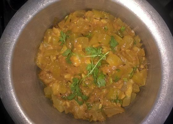 Gourd's with Gram Flour recipe - Indian easy Recipes