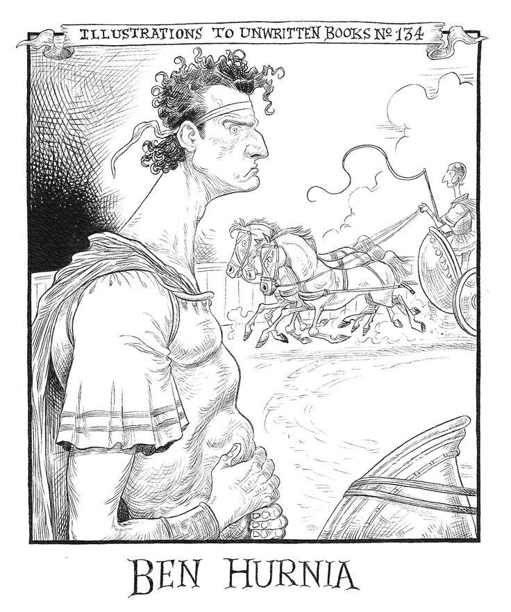 Chris Riddell - illustrations To Unwritten Books