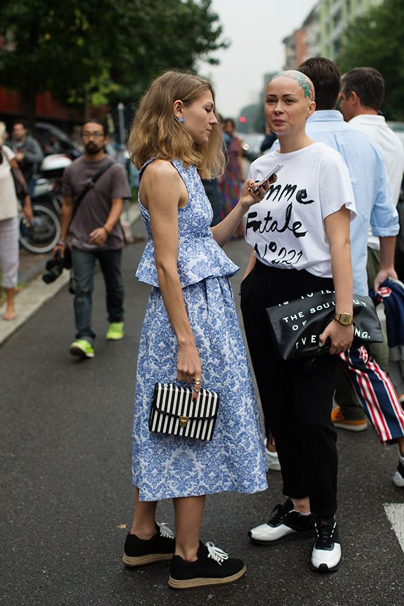 On the Street…..At Fendi, Milan