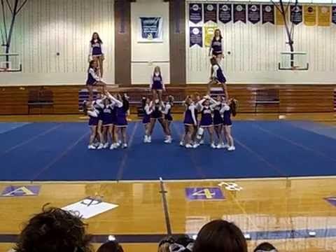Elmira College Cheerleading Routine