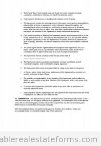 Free BUYING Monster Purchase and Sale Agreement Printable Real Estate Forms
