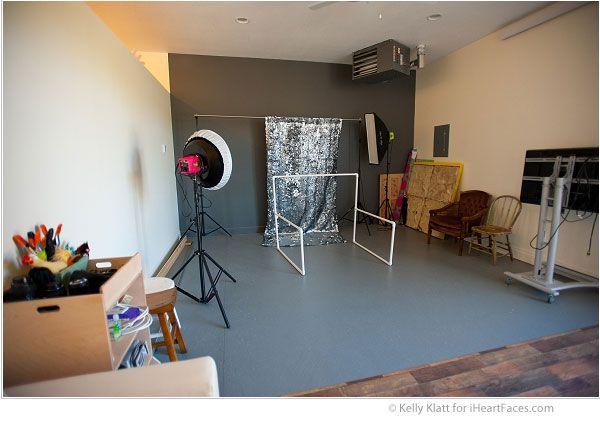I Heart Faces Home Studio Tour of Photography by Kelly Klatt