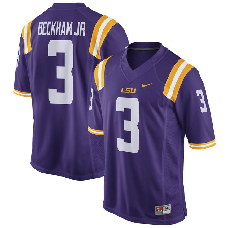 Odell Beckham Jr LSU Tigers Nike Alumni Football Jersey - Purple