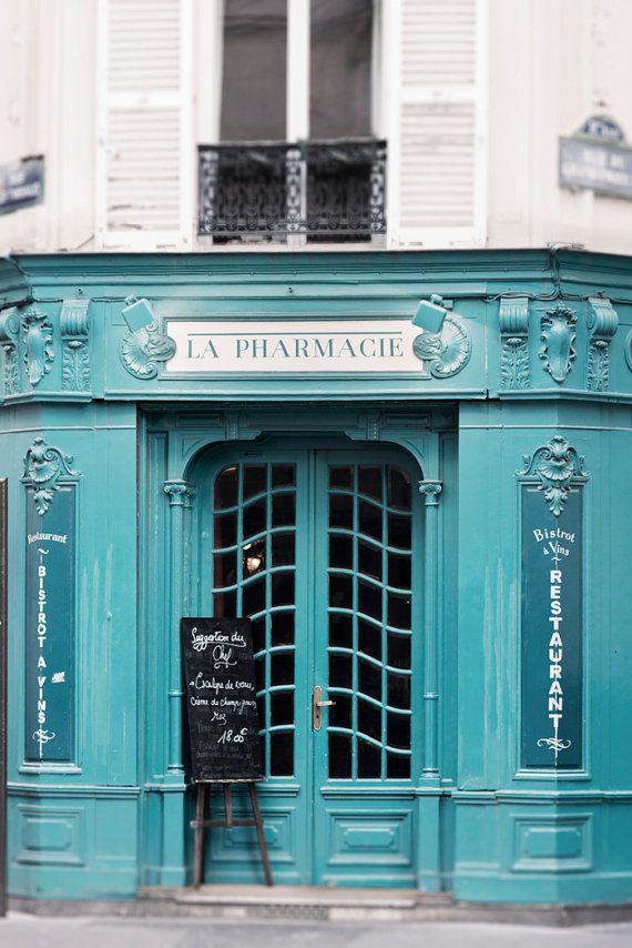 Paris Cafe Fine Art Photograph, French Home Decor $30.00
