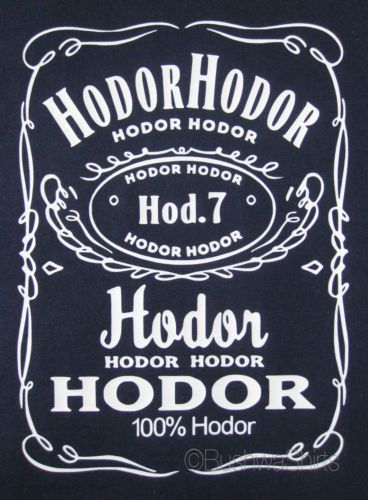 NEW-GAME-OF-THRONES-Inspired-T-Shirt-Top-Mens-Funny-HODOR-HODOR-STARK-JON-SNOW