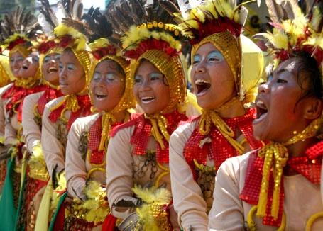 Kadayawan Festival in Davao.