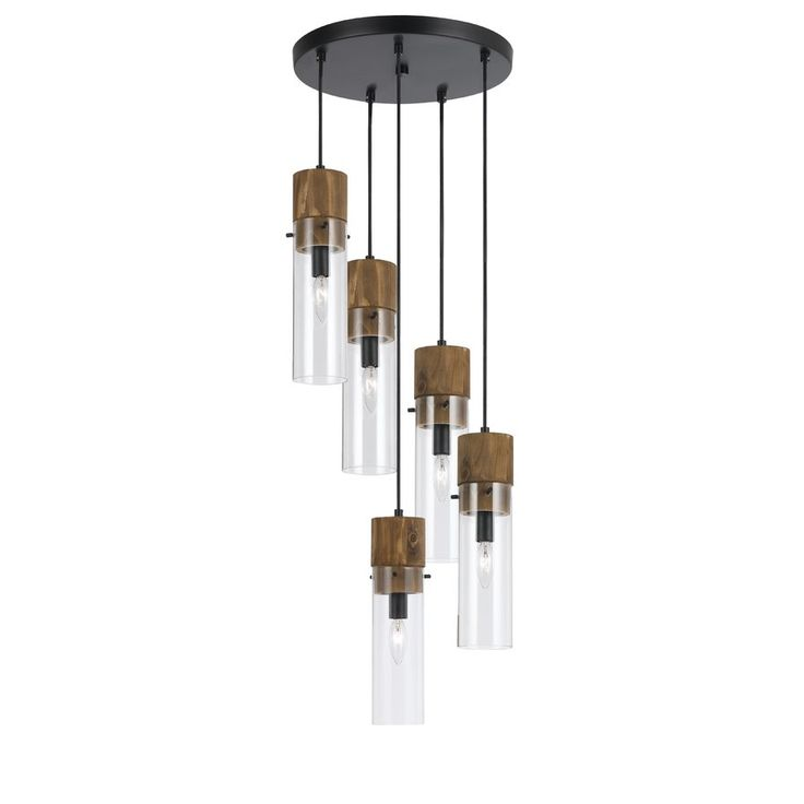Dinel 5-Light Cascade Pendant