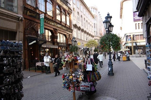 Budapest - Pest - Vaci utca