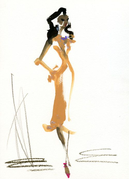 Chanel Iman 黒人モデルで好きなのは、しなやかでセクシーなシャネル・イマン。