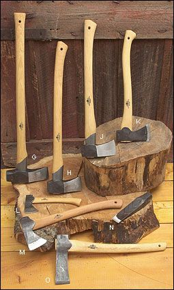 Gränsfors Axes from Sweden - Woodworking