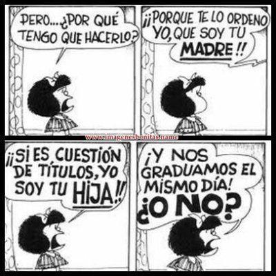 imagenes de mafalda con frases   10 frases de mafalda que te harán pensar - Taringa!