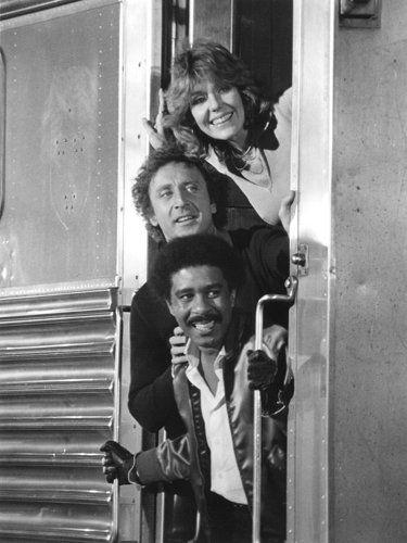 T to B: Jill Clayburgh, Gene Wilder and Richard Pryor