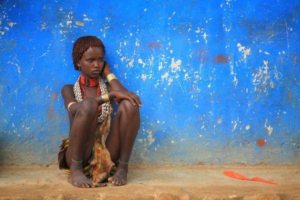 Ragazza etiope  Fotografia di Camilla Baserga