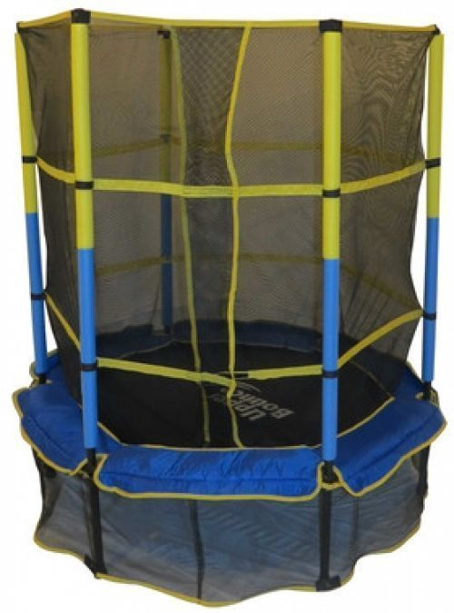Upper Bounce 55 Kids Trampoline With Enclosure #UpperBounce #trampoline