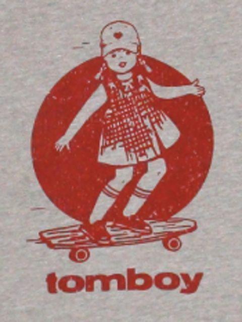 Vintage skateboard longboard t-shirt from Tomboy Vintage