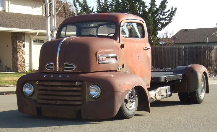 1948 Ford COE  This thing is huge! And I would drive it everywhere!