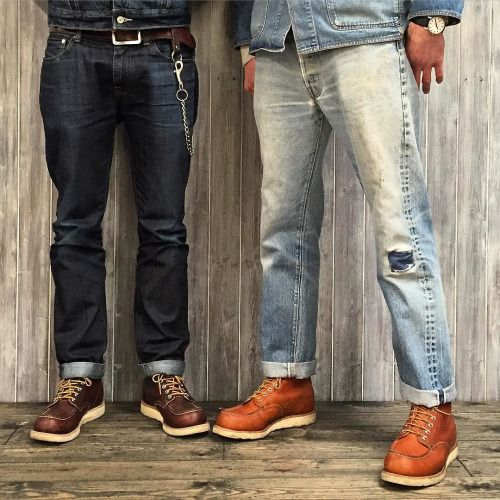 red wing moc toe copper - Google Search